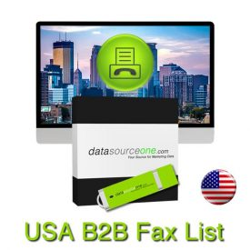 USA Business Fax Database