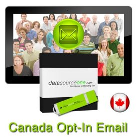 Canada Opt-In Email Database